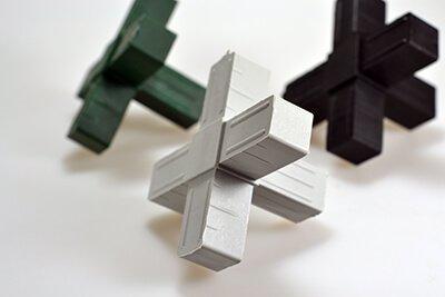 25 mm Forbindelses stykker