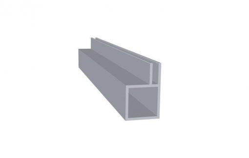 Aluminiums profil 4 mm flange 20*20 mm Randers Volieren