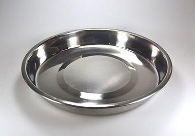 Rustfri skål 30.5 cm. Randers Volieren