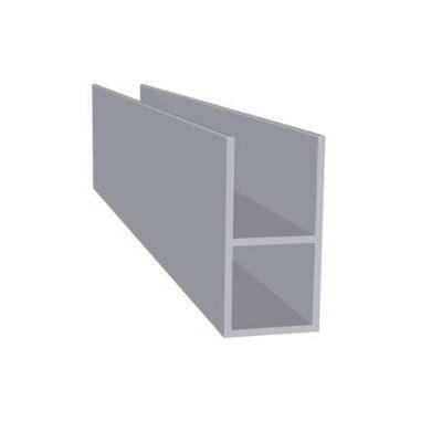 Aluminiumsprofil 16 mm flange Randers Volieren