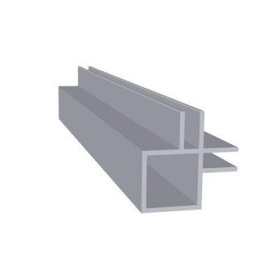 Aluminiums profil hjørne flange Randers Volieren