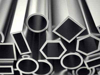 Eloxeret Aluminium (sølv)