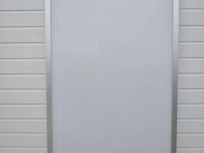 Aluminiums Tagramme med 16mm termoplader Randers Volieren