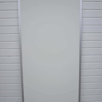 Aluminiums Sideramme Med Kunststof plade Randers Volieren