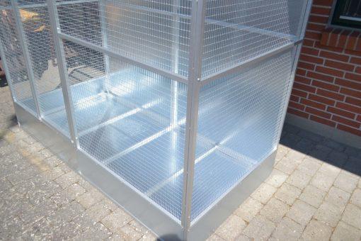 Aluminiums voliere | Randers volieren