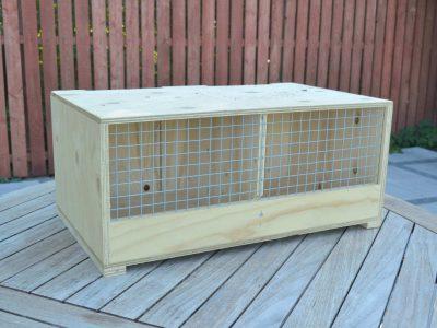 Transportkasse til papegøjer Randers Volieren