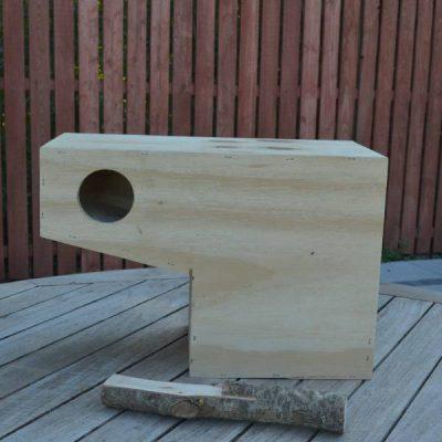Pistol kasse til papegøjer   Randers volieren