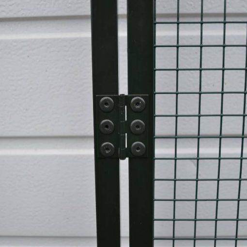 Grøn lågramme i aluminium   Randers volieren