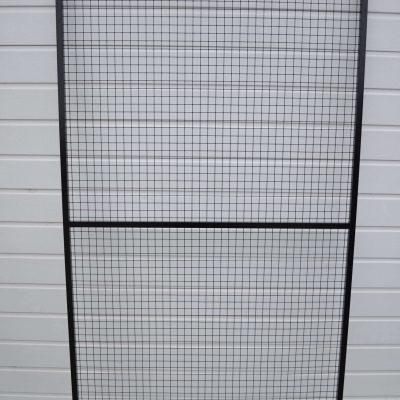 Sort aluminiums sideramme | Randers volieren