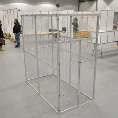 Aluminiums voliere 200 x 200 cm | Randers volieren