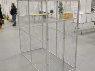 Aluminiums voliere 100x200x200 cm Randers Volieren