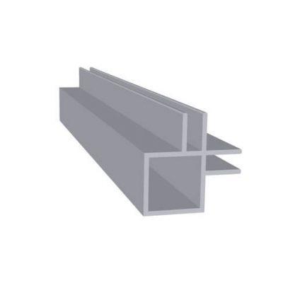 Aluminiums profil hjørne flange 3 mm. Randers Volieren
