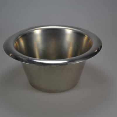Rustfri skål 21,5 cm. Original Randers Voliere høj