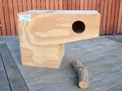 Parakit kasse med skuffe_1 | Randers Volieren