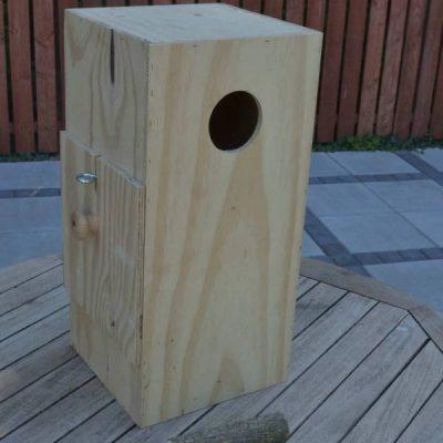 Papegøje kasse stor | Randers volieren