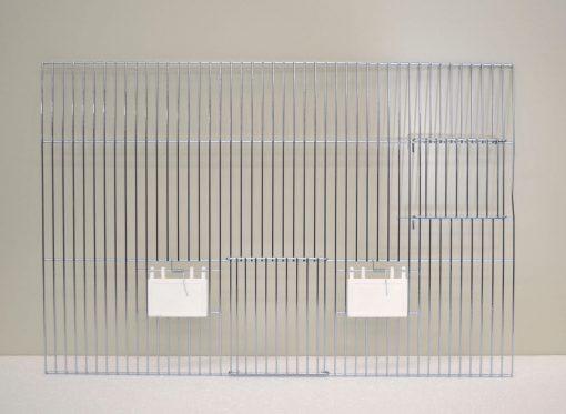 Forsidegitter 40 x 60 udvendig og fodring og redekasse | Randers Volieren
