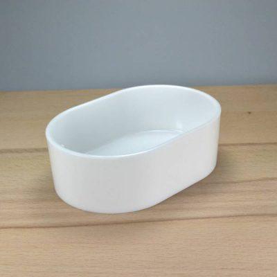 Skål rund oval | Randers volieren