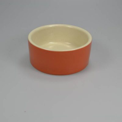 Foderskål keramik 175 ml Orange   Randers volieren
