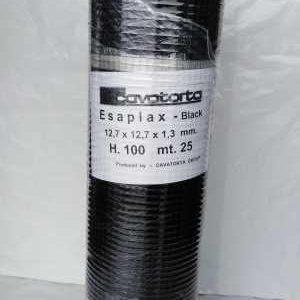 Sort voliere net 12,7x 12,7x1,3mm Randers Volieren