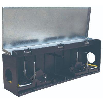 Tunnel Box mus m/ 2 Smækfælder | Randers volieren