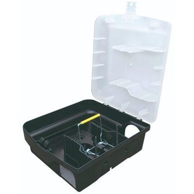 Rottekasse Plast m/ Smækfælde | Randers volieren