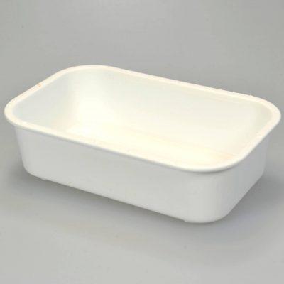 Hvid foderskål | Randers volieren