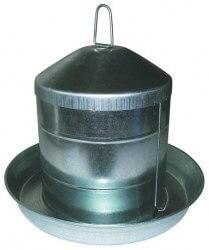 Fjerkrævander Galvaniseret 9 ltr