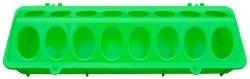 Fodertrug Plast Grøn 10X30 cm
