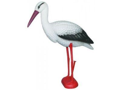 Stork - Plast Højde 78 cm   Randers volieren
