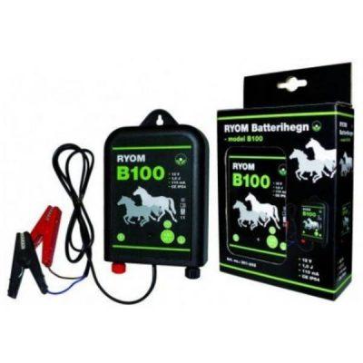 Batterihegn B100 12V 1,0J | Randers volieren
