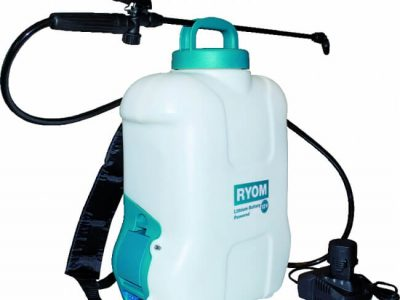 ryom havesproejte paa batteri 10 liter