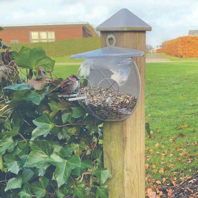 Fuglefoderhus fugle cool - LUX Plast | Randers volieren
