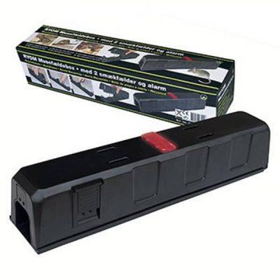 Musefælde box m/alarm og 2 Smækfælder | Randers volieren