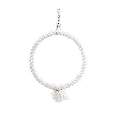 Klatre ring bomuld 34 cm | Randers volieren
